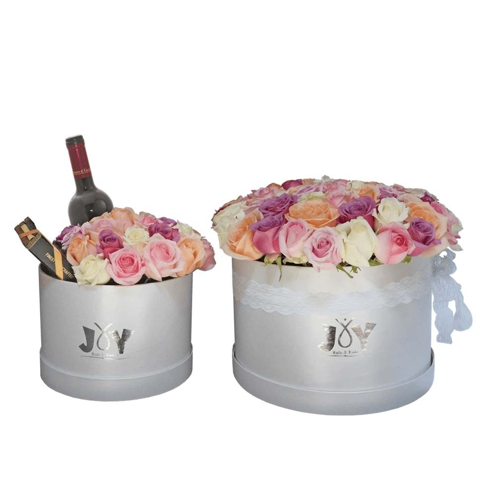 101 ruža u pastelnim tonovima