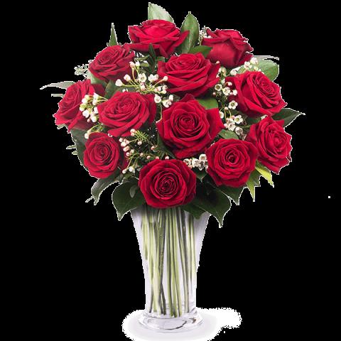 12 crvenih ruža-kipar