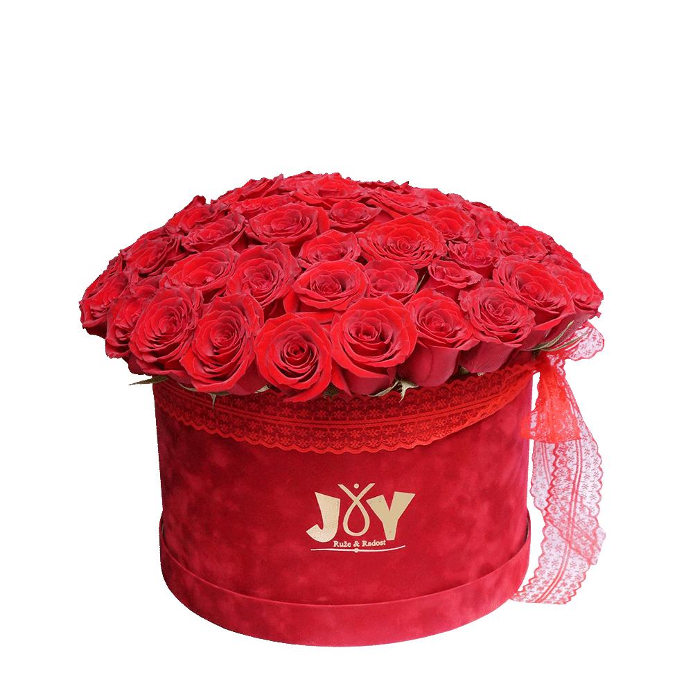 71 ruža u kutiji
