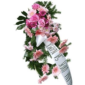 Suza sa roze cvećem