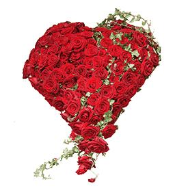 Srce od ruža