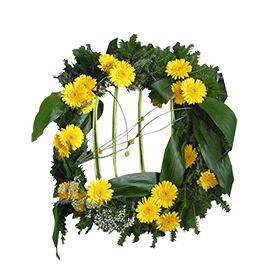 Venac u žutim nijansama