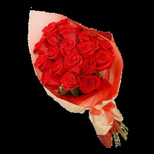 Crvene ruže u elegantnom pakovanju
